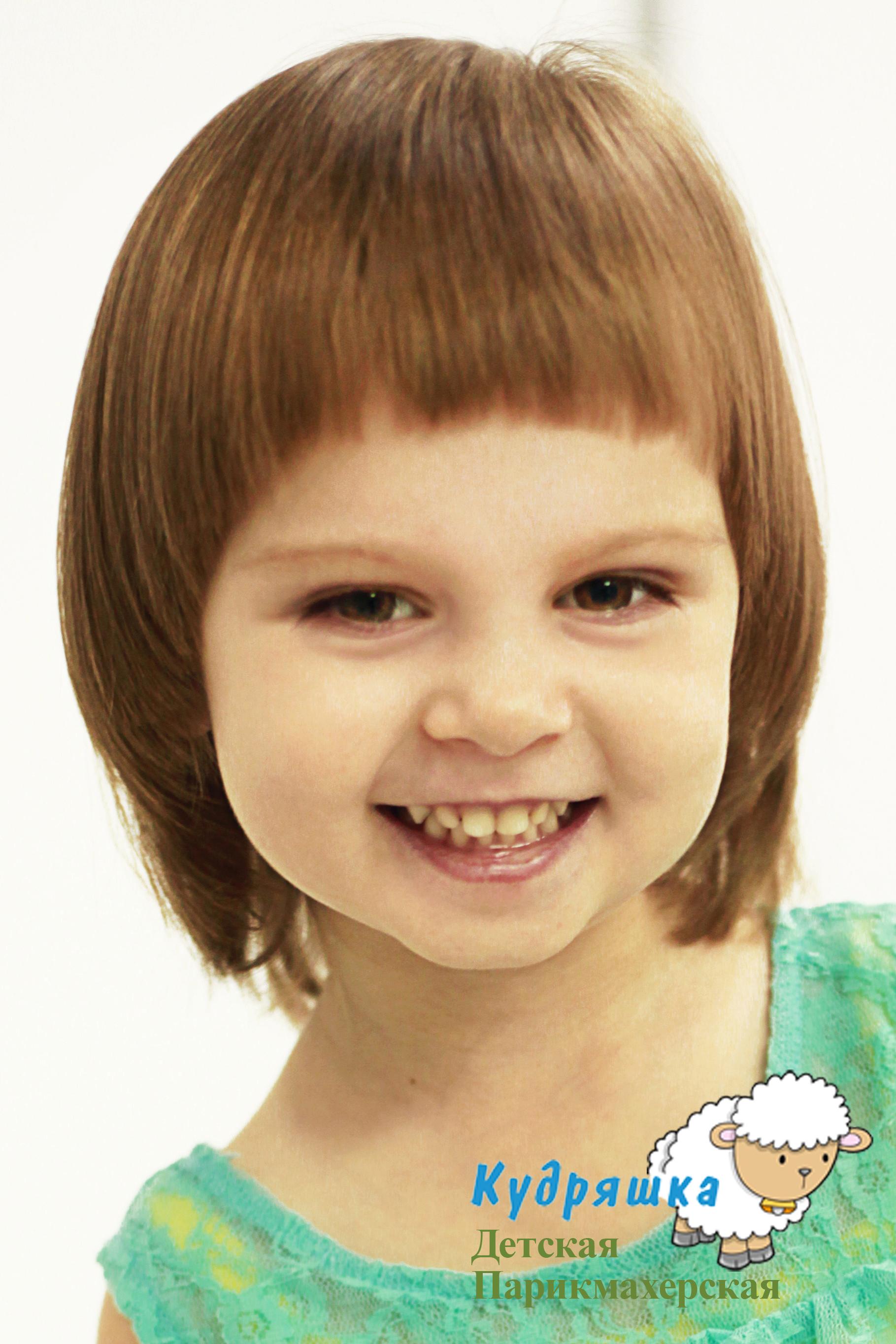 Прически на девочку в 2 года фото