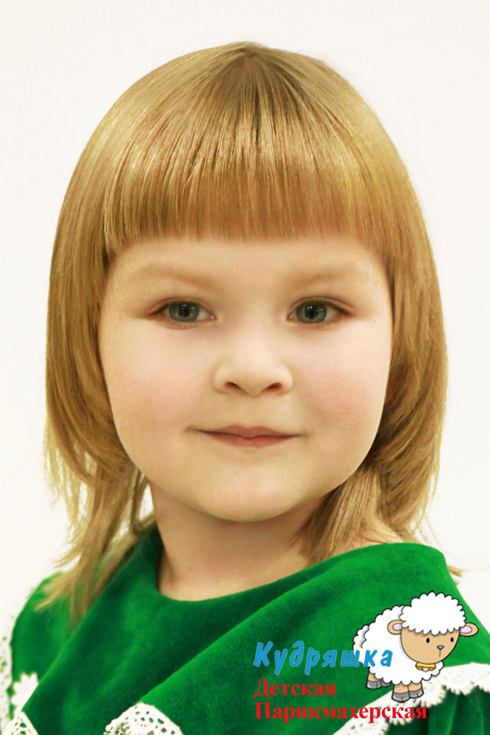 Причёски для коротких волос с чёлкой для девочек
