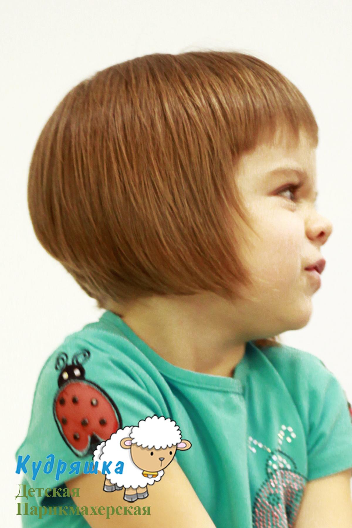 Стрижки для девочек 5-6 лет короткие
