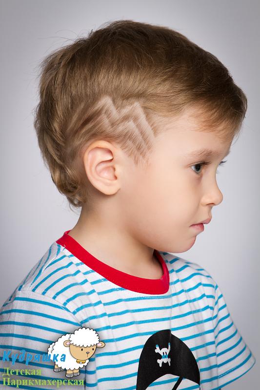 Причёски на мальчиков фото